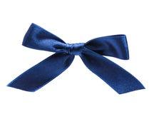 белизна праздника смычка предпосылки голубая Стоковое фото RF