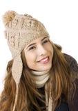 белизна предпосылки довольно предназначенная для подростков Стоковые Изображения RF