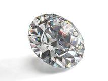 белизна предпосылки изолированная диамантом Стоковое Фото