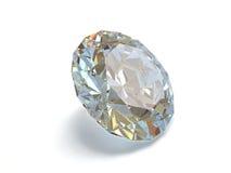 белизна предпосылки изолированная диамантом Стоковые Изображения