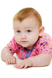 белизна предпосылки младенца Стоковое Изображение RF