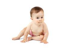 белизна предпосылки младенца Стоковые Изображения