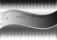 белизна предпосылки черная Стоковая Фотография RF