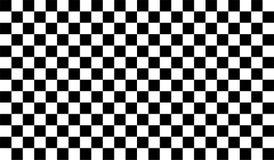 белизна предпосылки черная checkered иллюстрация вектора