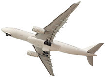 белизна предпосылки самолета Стоковое Изображение RF