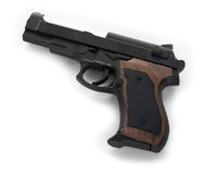 белизна пушки предпосылки стоковые изображения rf