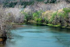 белизна реки Стоковая Фотография