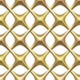 белизна решетки золота Стоковое фото RF