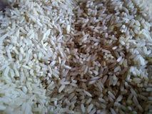 Белизна риса в еде цвета самой лучшей вегетарианской Стоковые Изображения