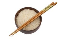 белизна риса круглая Стоковые Изображения RF