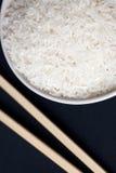белизна риса палочек шара Стоковые Изображения RF