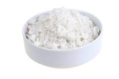 белизна риса шара Стоковое Изображение
