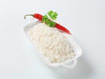 белизна риса Стоковая Фотография RF