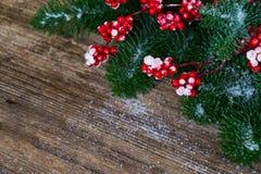 белизна рождества красная Стоковое Изображение RF