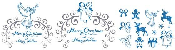 белизна рождества предпосылки изолированная украшением Праздник Новый Год рождество украшает идеи украшения свежие домашние к Тор стоковая фотография rf