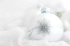 белизна рождества предпосылки Стоковое фото RF