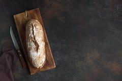 белизна рожи изоляции хлеба стоковые фотографии rf
