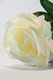 белизна розы ткани ручной работы Стоковая Фотография