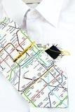 белизна рубашки галстука Стоковые Фото