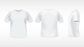 белизна рубашки t иллюстрация штока