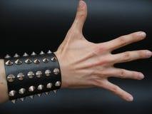 белизна руки стоковая фотография rf
