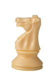 белизна рыцаря шахмат Стоковое Изображение