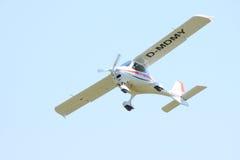 белизна самолета малая Стоковое фото RF