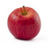 белизна свежести предпосылки яблока красная Стоковое Фото