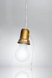 белизна светильника светлая Стоковое Изображение