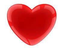 белизна сердца предпосылки Стоковые Фото