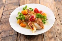белизна серии изображения еды рыб выкружки предпосылки различная Стоковые Фотографии RF