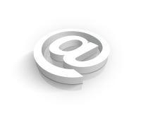 белизна символа Стоковая Фотография