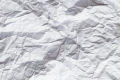 белизна скомканная предпосылкой бумажная стоковые фотографии rf