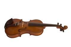 белизна скрипки предпосылки Стоковое Изображение RF