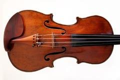 1 белизна скрипки размера 16 предпосылок Стоковые Фотографии RF