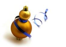 белизна снеговика шарика Стоковое Фото