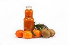белизна сока цитрусовых фруктов Стоковое фото RF