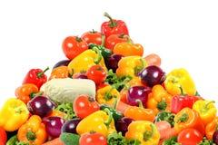 белизна состава красотки vegetable Стоковые Фотографии RF