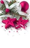 белизна состава рождества Стоковые Фото