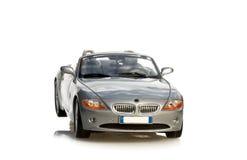 белизна спорта предпосылки изолированная автомобилем Стоковое фото RF