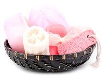 белизна спы принципиальной схемы розовая Стоковая Фотография RF