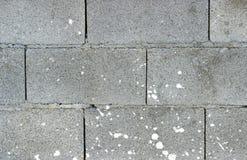 белизна стены блока Стоковое фото RF