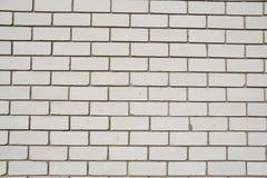 белизна стены кирпичей Стоковое Изображение RF