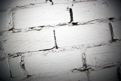белизна стены места кирпича Стоковые Фото