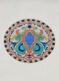 белизна стены плитки мозаики Стоковое Изображение RF