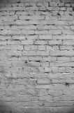 белизна стены текстуры кирпича Стоковое Изображение RF