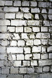 белизна стены текстуры кирпича Стоковые Фотографии RF