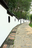 белизна стены Стоковое Изображение
