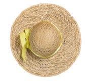 белизна сторновки шлема Стоковые Фото