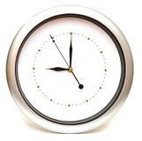 белизна стороны часов предпосылки изолированная Стоковая Фотография